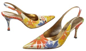 Dolce&Gabbana Orange/Multicolor Pumps