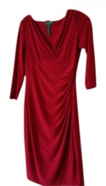 Preload https://img-static.tradesy.com/item/157449/ralph-lauren-red-suit-wrap-trend-night-out-knee-length-workoffice-dress-size-6-s-0-0-650-650.jpg