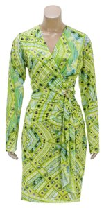 Roberto Cavalli short dress Lime Green on Tradesy