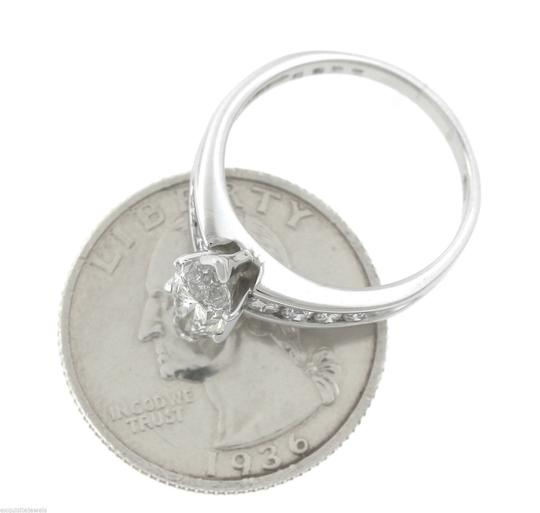 Other Lovely 1.78ctw Marquise Diamond 14K White Gold Solitaire Accent Engagement Ring Image 3