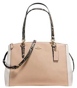 Coach Christie Satchel Tote 37764 Carryall Shoulder Bag