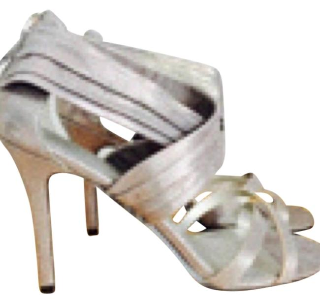 Nine West Pewter Grayish Silver Free Shipping Pumps Size US 7.5 Regular (M, B) Nine West Pewter Grayish Silver Free Shipping Pumps Size US 7.5 Regular (M, B) Image 1