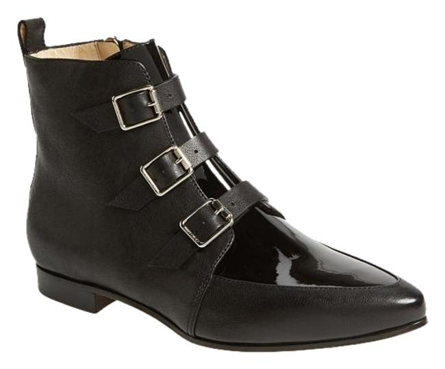 Item - Black New Marlin Buckled Leather Moto Ankle 40 Boots/Booties Size US 9.5