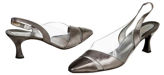 René Mancini Gray Pumps