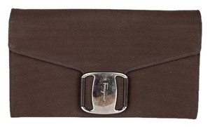 Salvatore Ferragamo Brown Salvatore Ferragamo wallet