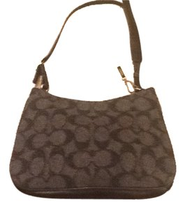Coach Wool Hobo Bag