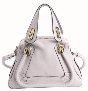 Chloé Satchel in Dove grey
