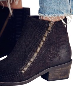 Free People Crossings Ankle 10 Chocolate Boots