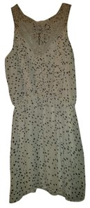 Buffalo David Bitton short dress Pink-Taupe with Brown Hearts A-line on Tradesy