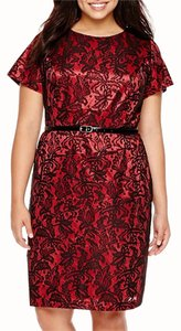 Alyx short dress Red/Black on Tradesy
