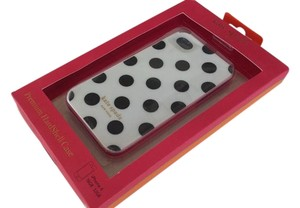 Kate Spade Kate Spade white & black dots Premium Hardshell iPhone 4&4s case New in box