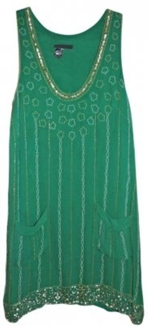 Preload https://item3.tradesy.com/images/french-connection-green-daisy-beaded-above-knee-cocktail-dress-size-2-xs-157477-0-0.jpg?width=400&height=650