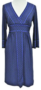 City Triangles short dress Blue on Tradesy