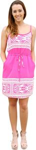 Entourage of 7 short dress Fushia/Cream on Tradesy