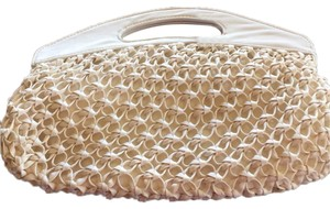 New York & Company Ivory Clutch