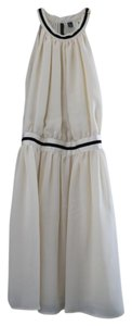 Mango short dress Cream Elegant Chic on Tradesy