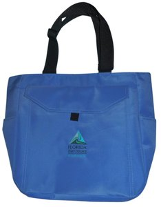 Book College Laptop Notebook Tote in Blue