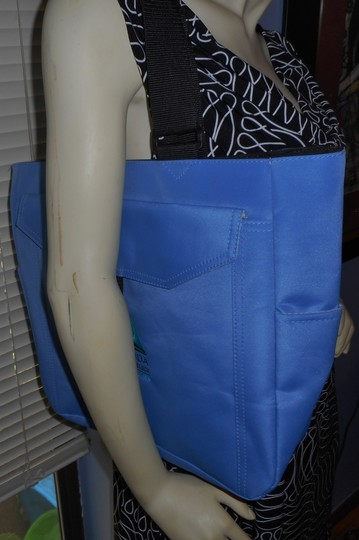 Other Book College Laptop Notebook Tote in Blue Image 1