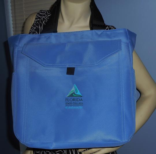 Other Book College Laptop Notebook Tote in Blue Image 3