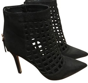 ALDO Heeled Zip Up Black Boots