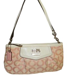 Coach Handbag Opt Art Signature Baguette