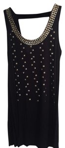 Forever 21 short dress Navy Blue Studded on Tradesy