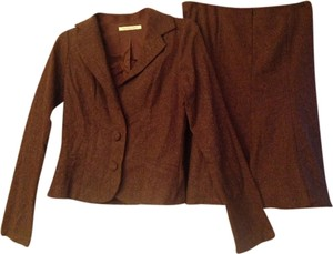 S-Twelve Tweed 2 Piece Skirt Suit