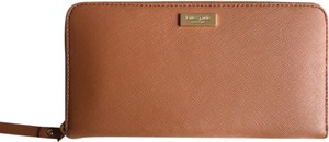 Kate Spade Neda Leather Pockets Wallet Brown Clutch