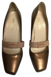 Prada Copper Pumps