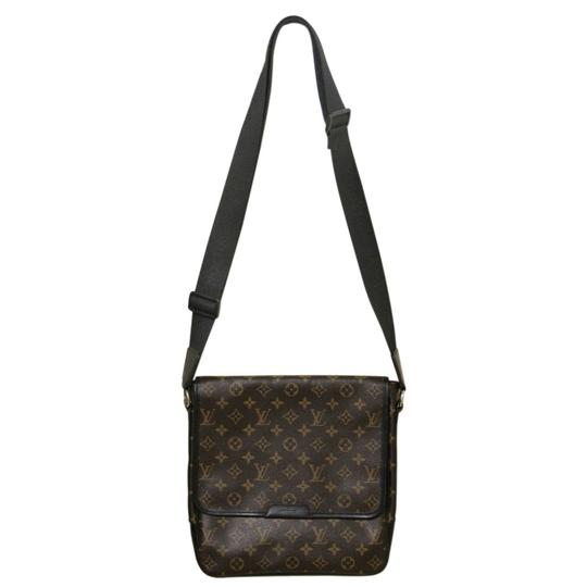 Louis Vuitton Mens Mm Canvas Mens Brown/Black Messenger Bag