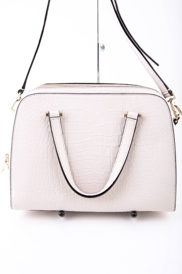Kate Spade Ivory Felix Small Satchel in White Image 4