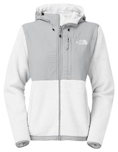 The North Face Recycled TNF White / High Rise Grey Jacket
