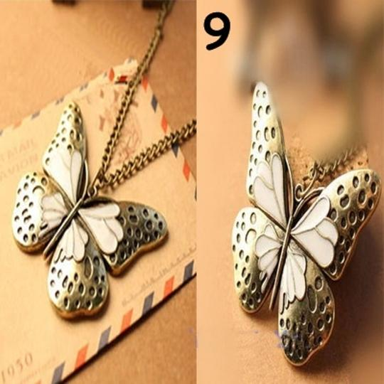 Unknown BOGO Free Bronze Butterfly Sweater Necklace Free Shipping