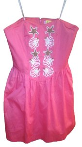 Lilly Pulitzer Strapless Seashell Dress