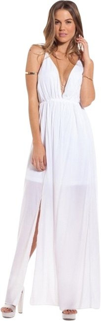 Item - White Long Casual Maxi Dress Size 6 (S)