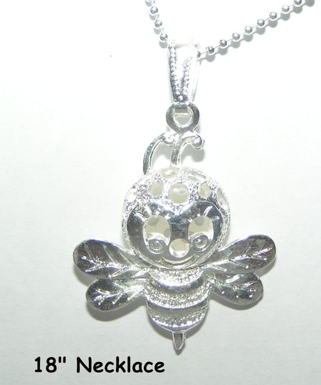 Bogo Free Silver Bumble Bee Necklace Free Shipping