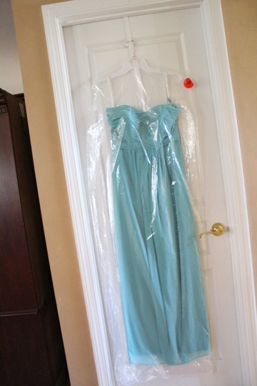 Bill Levkoff Glacier Chiffon 741 Formal Bridesmaid/Mob Dress Size 10 (M) Image 2