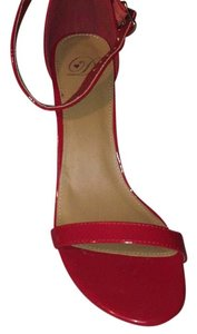 Charlotte Russe Red patent leather Formal