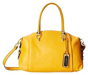 London Fog Satchel in Yellow