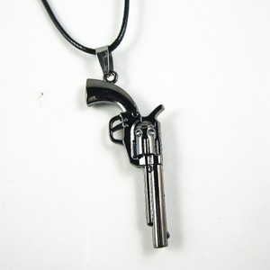 Unisex Stainless Steel Pistol Necklace Free Shipping