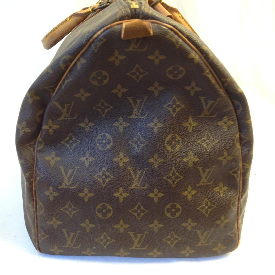 louis vuitton 55 monogram weekender or gym or luggage travel bag on tradesy. Black Bedroom Furniture Sets. Home Design Ideas
