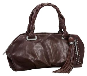 Michele Satchel in cocoa brown