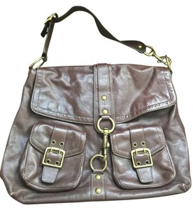 Coach Legacy Leather Brass Hardware Shoulder Bag