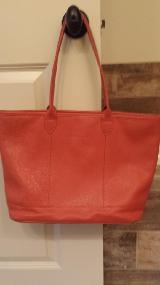 2d2490fba841 Longchamp Foulonne Sienna Leather Tote - Tradesy