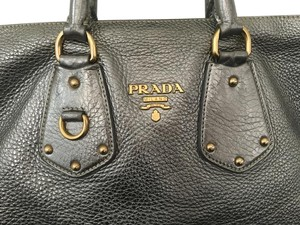 Prada Supple Travel Tote in Gray