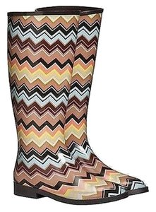 Missoni for Target Pink, Black, Blue, Green, Yellow Boots