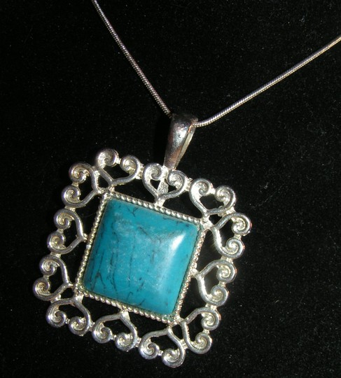 Ethnic Tribal Turquoise Necklace Free Shipping