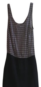 Free People short dress Black/grey on Tradesy