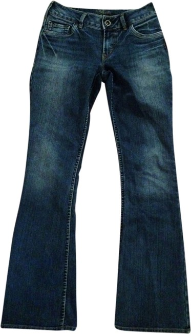 Silver Jeans Co. Flare Leg Jeans-Medium Wash