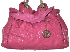 Dior Patent Leather Le Trente Tote in Pink